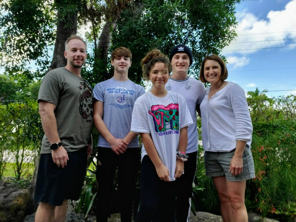 Benjamin Byers, D.O.'01, FACOG and his family